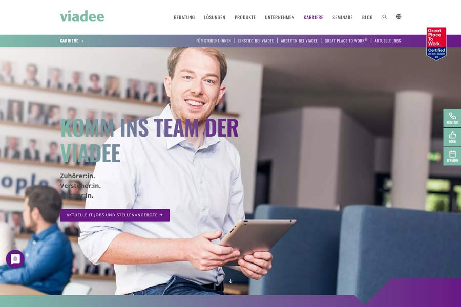 viadee IT-Unternehmensberatung