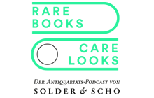 RARE BOOKS CARE LOOKS DER ANTIQUARIATS-PODCAST